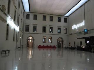 Albertinum Museum lobby