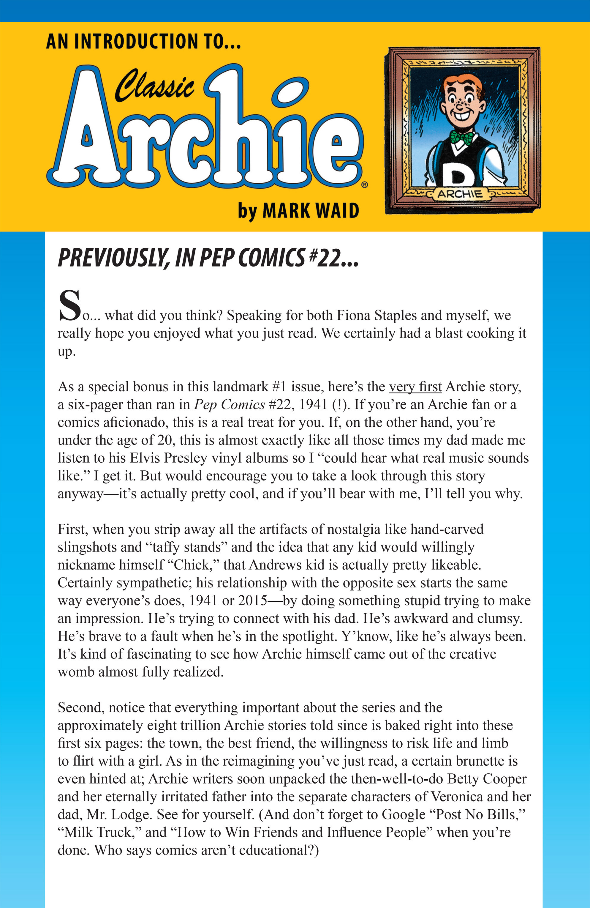 Read online Archie (2015) comic -  Issue #1 - 24