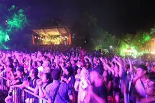 Party Goers Rainforest World Music Festival 2017