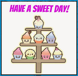 Have a sweet day- cupcakes stand