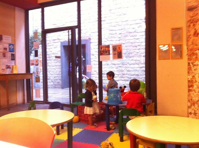 Crianças em Barcelona