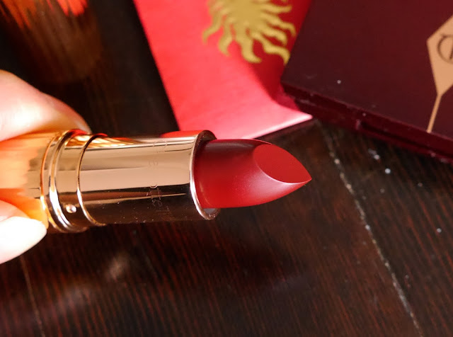 Charlotte Tilbury KISSING Night Crimson Lipstick
