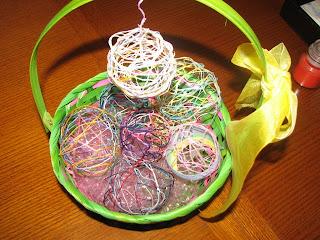 Threaded Easter Eggs
