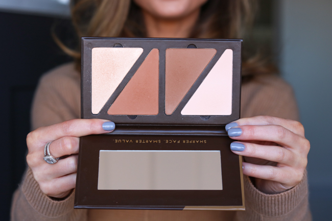 guize face fx highlight contour palette