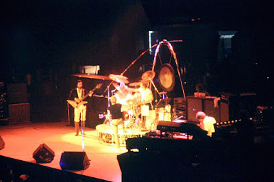 THE WHO on stage at Madison Square Garden... September 17, 1979
