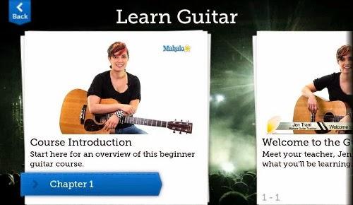 aplikasi Gibson Learn & Master Guitar