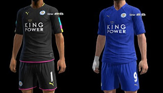 Leicester City Puma 16 17 Official Kits Pes 2013
