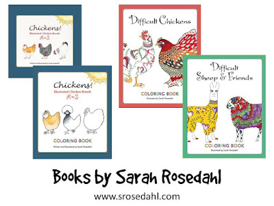 Sarah Rosedahl book prize package Giveaway at The Chicken Chick's Clever Chicks Blog Hop!
