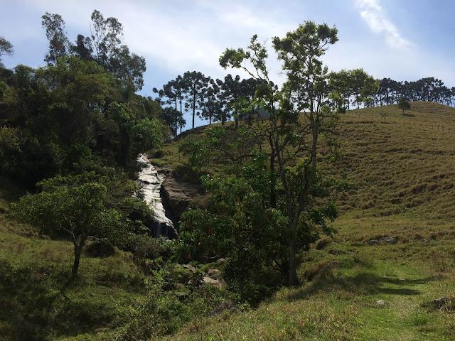 Cachoeira do Tobogã, em São Bento do Sapucaí, na Serra da Mantiqueira