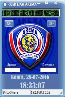 Inject Indosat Ojek Ijah Arema 28 Juli 2016