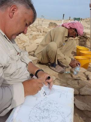 Unique Stone Age finds on Marawah Island, Abu Dhabi