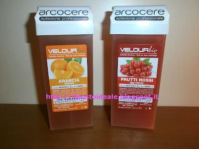 Arcocere - Cera Velour Bio all'arancia e ai frutti rossi