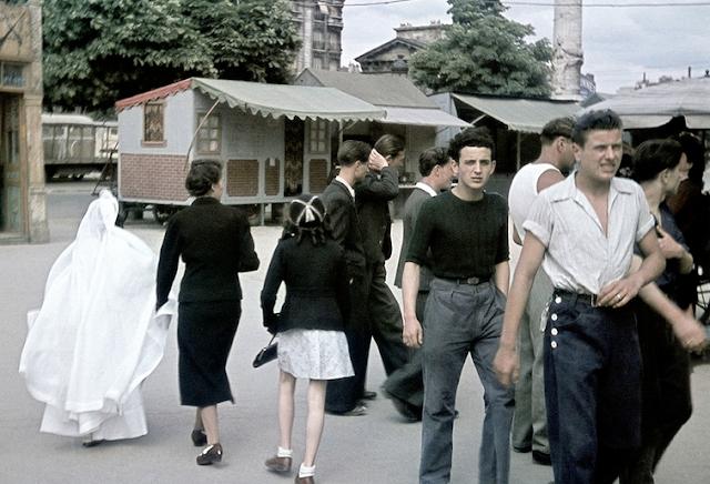 Foire du trône en 1941 par André Zucca