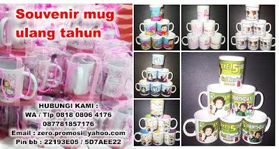 Jual Mug Souvenir | Souvenir Birthday | Mug Sablon