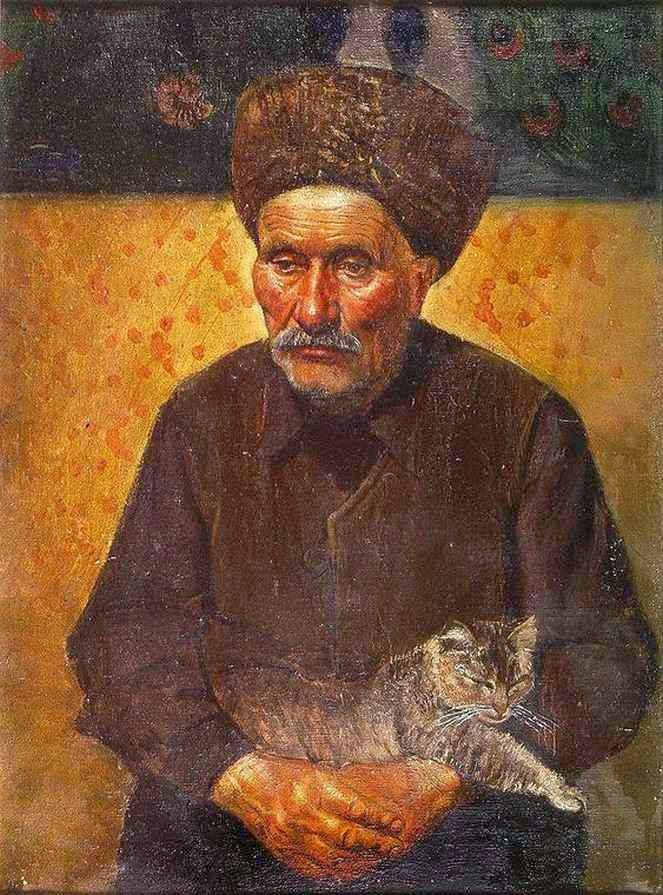 Современный российский художник. Azamat Kuliev