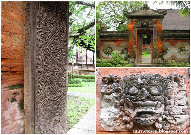 Балийская архитектура в Музее Бали, Денпасар