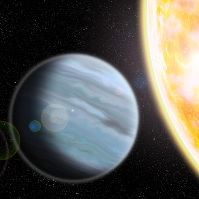 'Styrofoam' planet may help solve mystery of giant planets