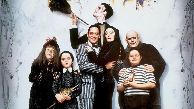 O antes e o depois dos atores do filme A Família Addams