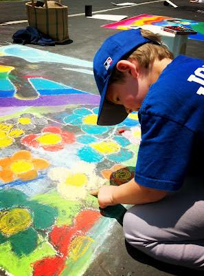 Chalk It Up 2012, Kids Art,