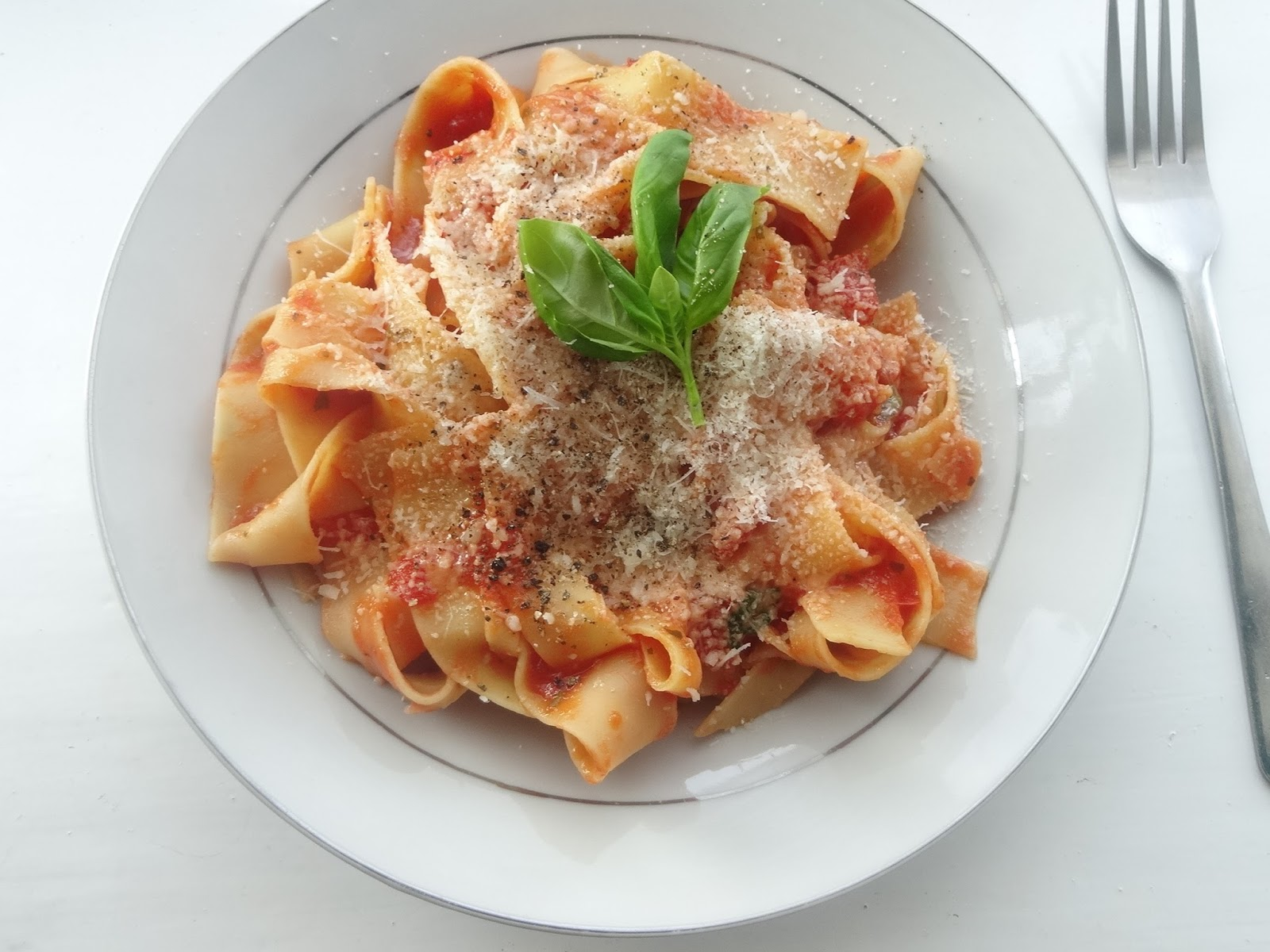 Vegetarian Tagliatelle Pasta Recipe