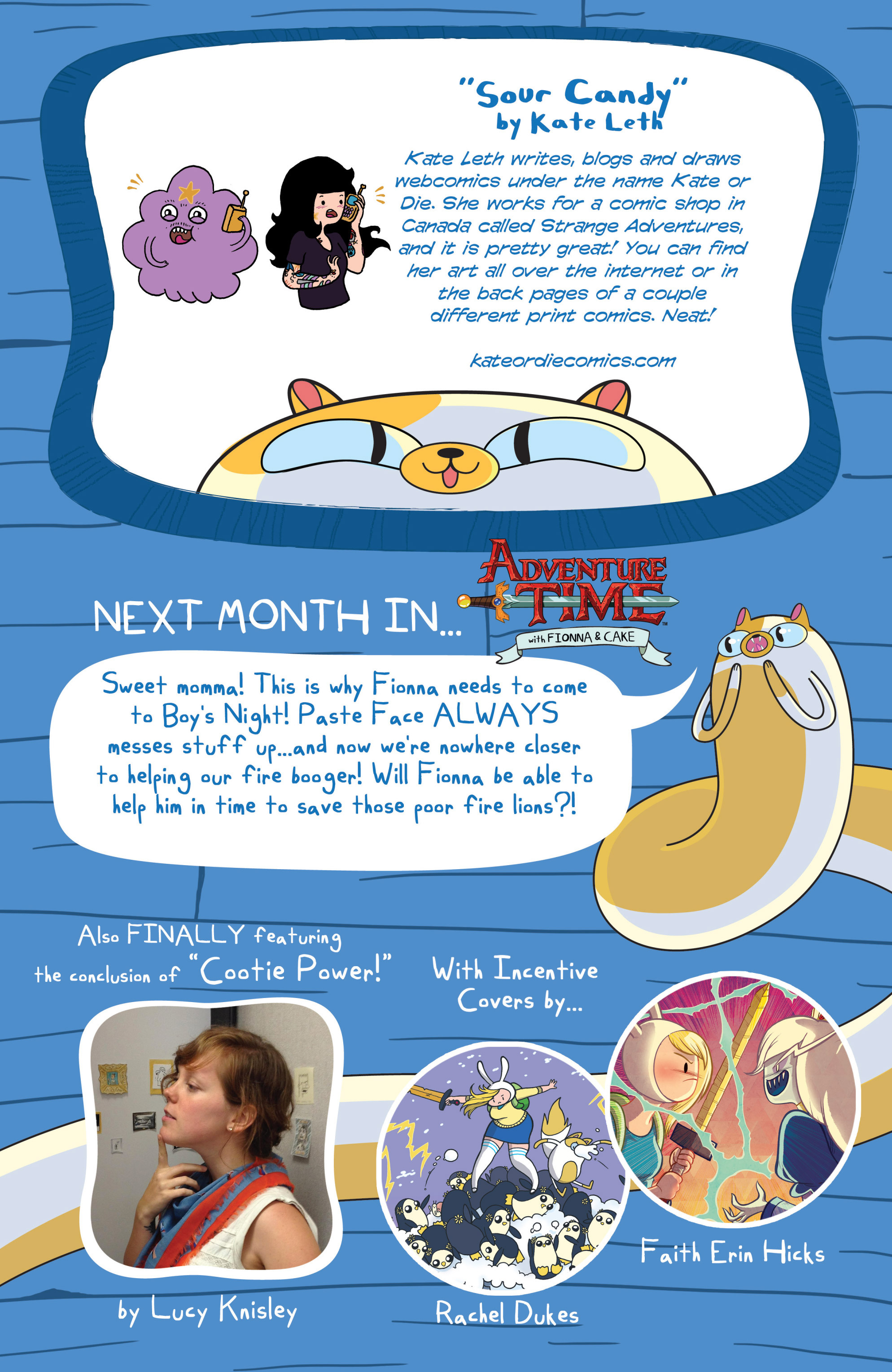 Read online Adventure Time with Fionna & Cake comic -  Issue #3 - 29