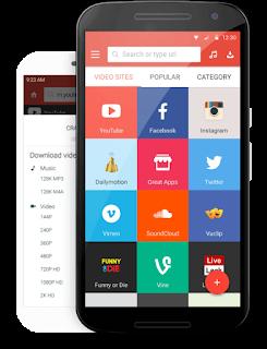 أفضل البرامج لتحميل الفيديوهات من اليوتوب و الفيسبوك - best app for download video