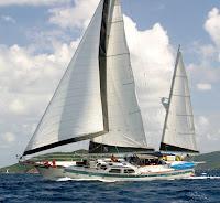 Roy Pat Rucker Sail Three Moons Yacht charters