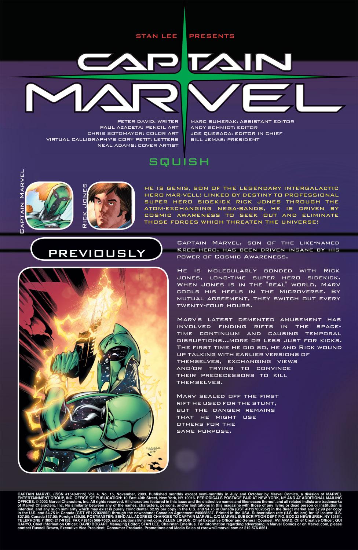 Captain Marvel (2002) Issue #15 #15 - English 2