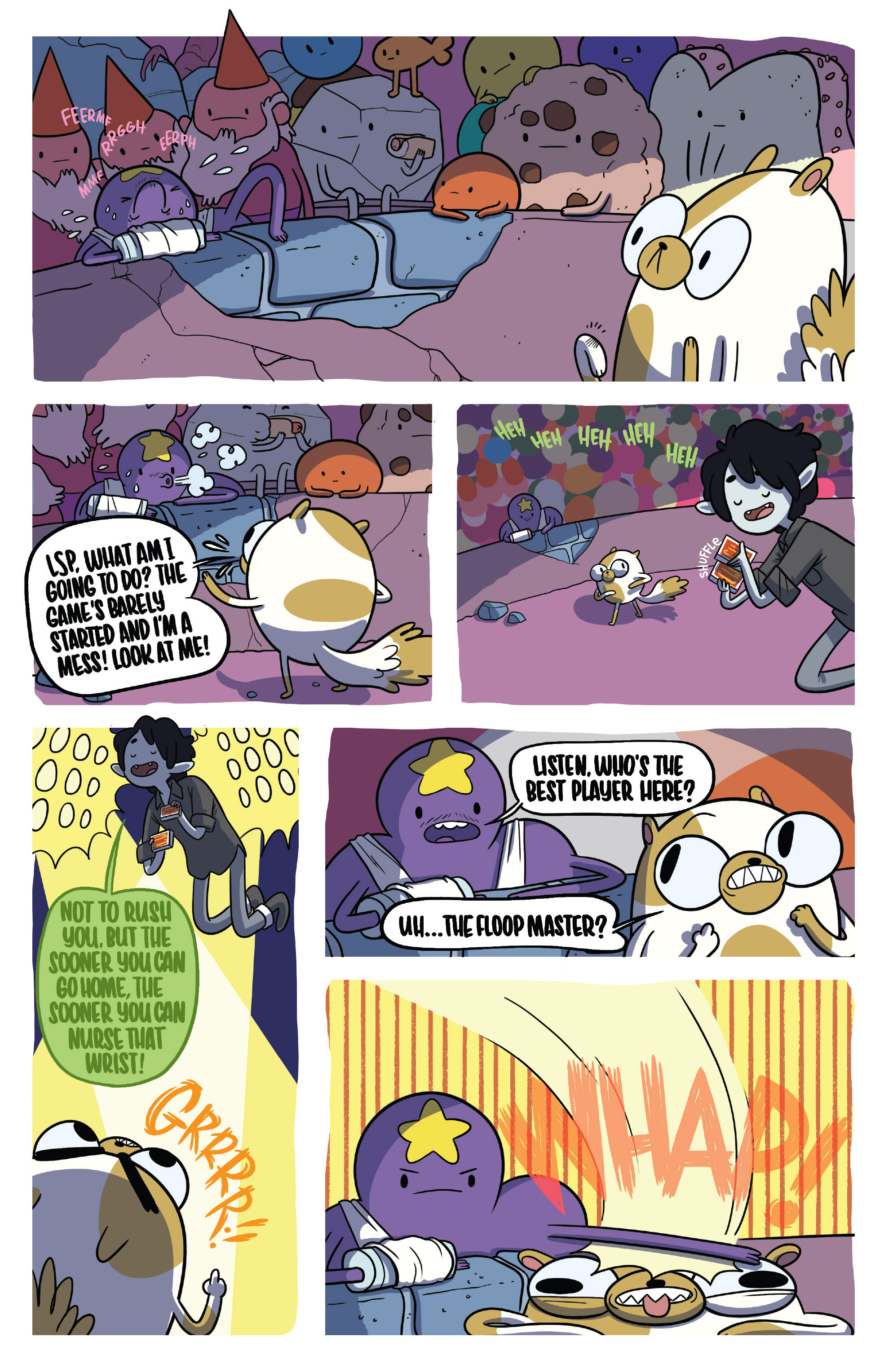 Read online Adventure Time Fionna and Cake Card Wars comic -  Issue #5 - 4