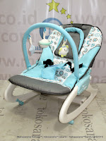 Super Bouncer Care CBR6901 Elfe Dreamy Rocker Blue Summer