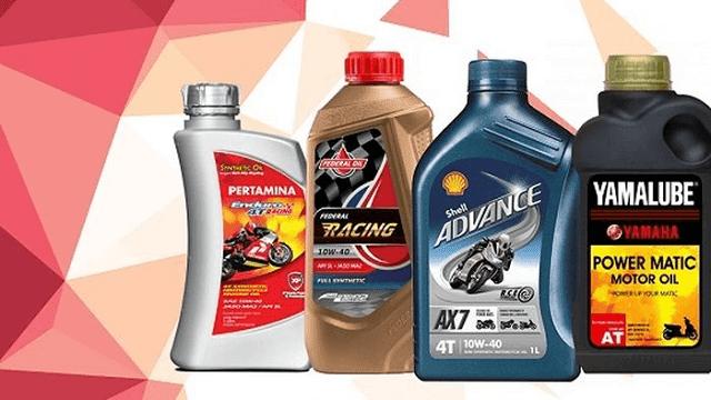 rekomendasi oli motor terbaik di indonesia