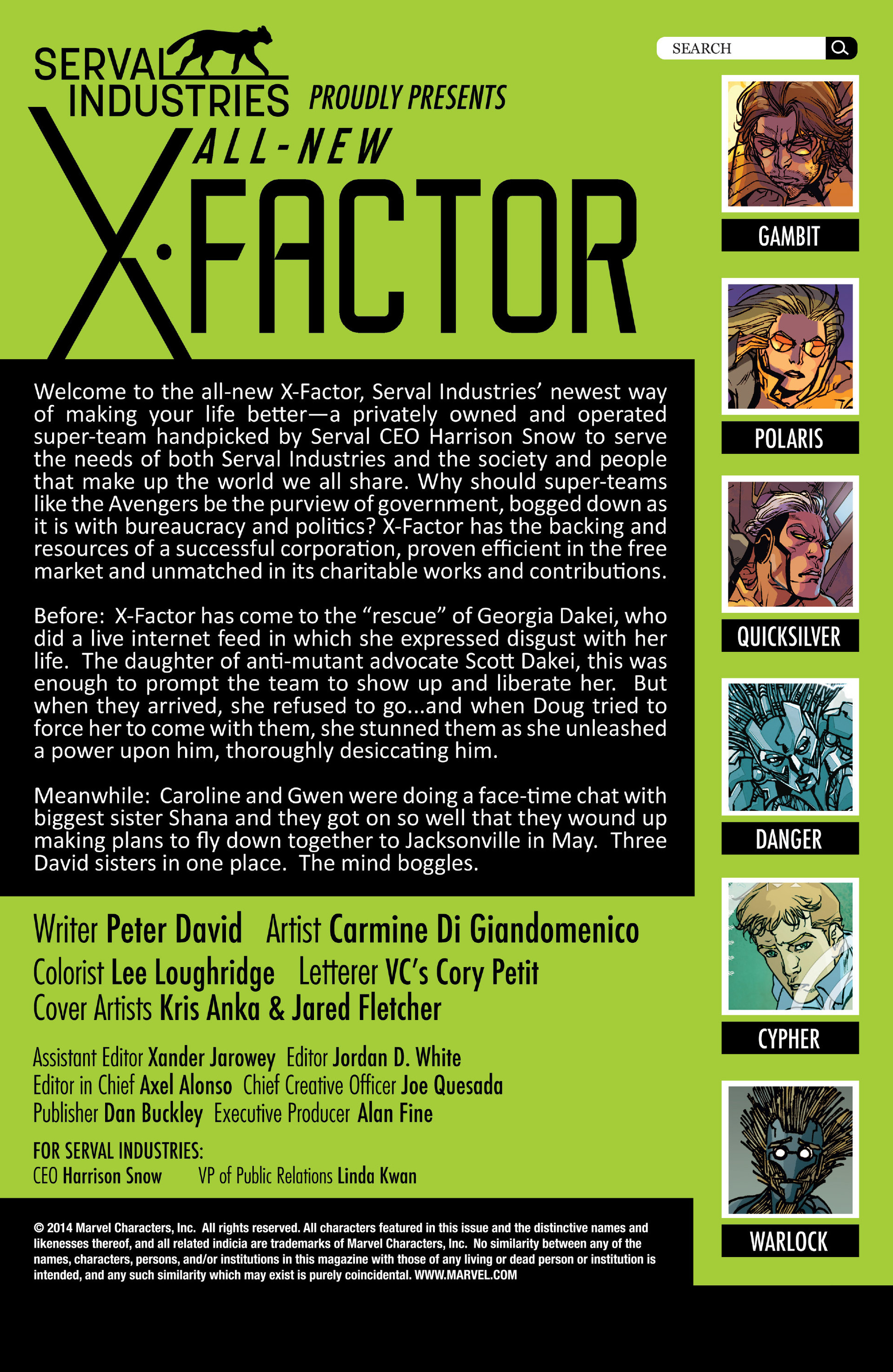 Read online All-New X-Factor comic -  Issue #8 - 2