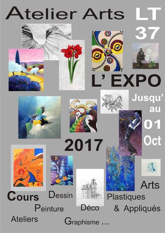 Top Atelier LT 37 - Cours Arts & Expos: Exposition 2017 des Ateliers  XZ56