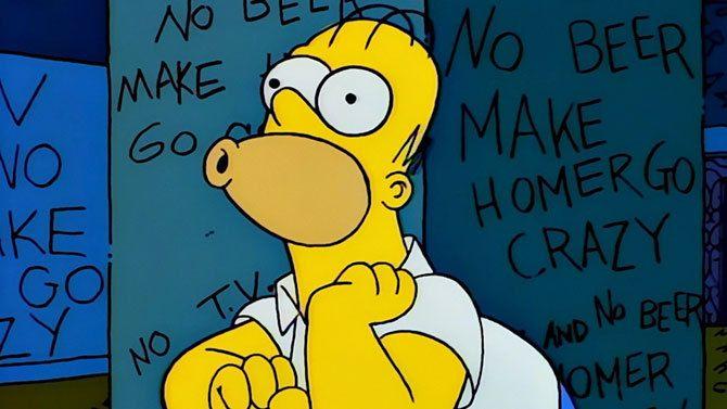 Un hombre suplanta la identidad de Homer Simpson...¡al volante!