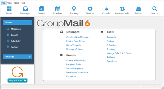 GroupMail Email Powerful Marketing Software