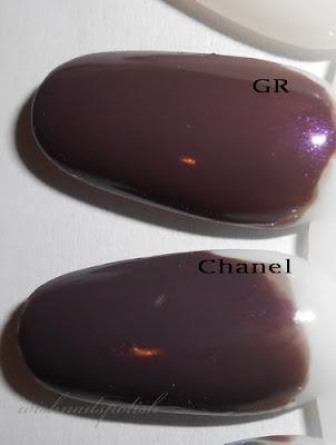 Chanel Paradoxal vs Golden Rose 120