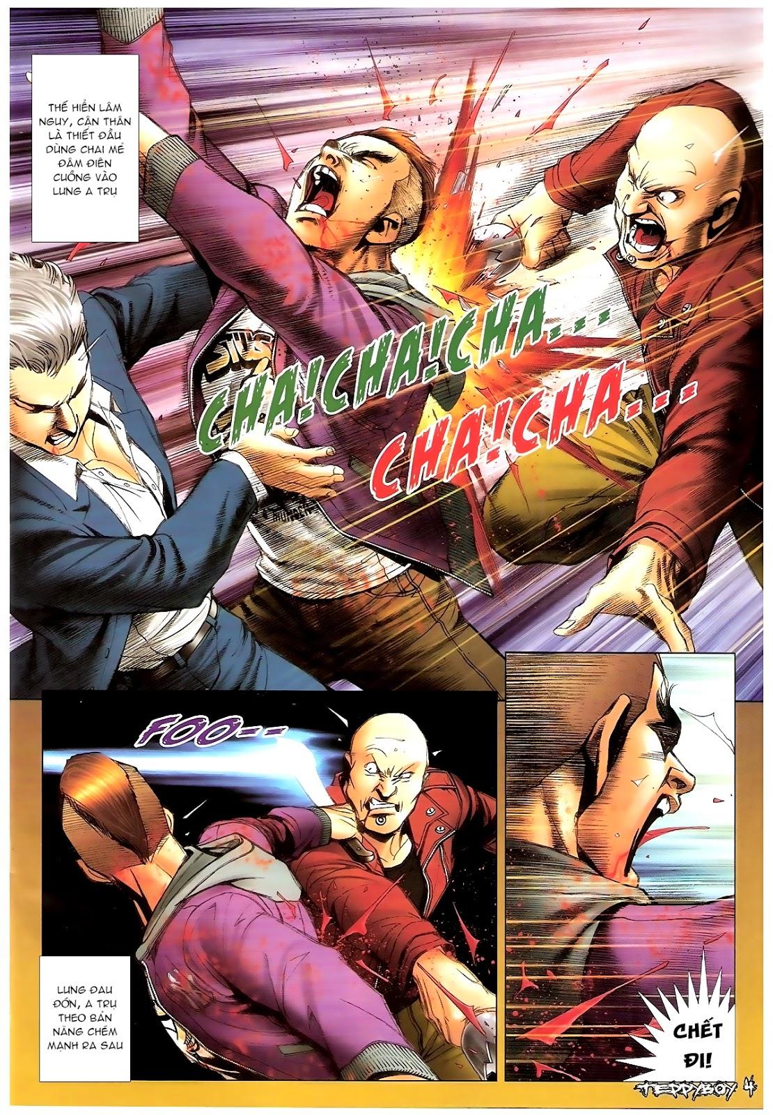 Người Trong Giang Hồ - Chapter 1382: Máu lệ nhạt nhòa - Pic 3