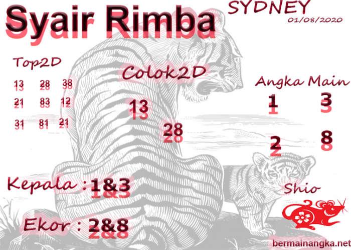 Kode syair Sydney Minggu 2 Agustus 2020 252