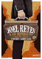 Concierto de Joel Reyes en Sala Galileo Galilei