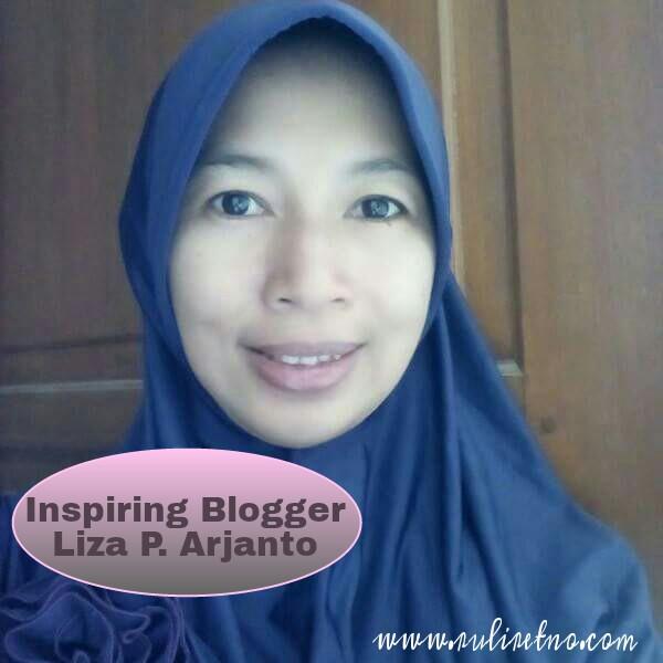 Inspiring blogger, MomaLiza.. Santun dan sederhana
