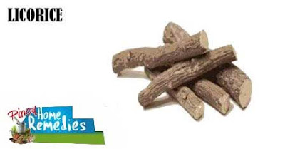 Home Remedies For Mucocele (Mucous Cyst): Licorice