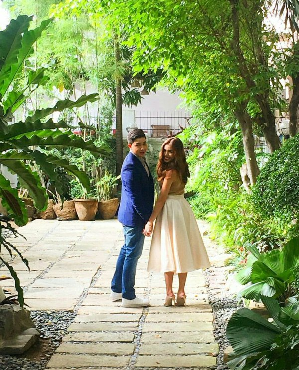 Look: Alden Richards and Maine Mendoza's pre-nuptial photos