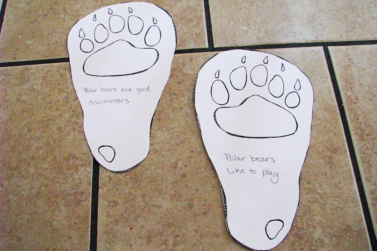 Mommy's Little Helper: Polar Bears Preschool Theme