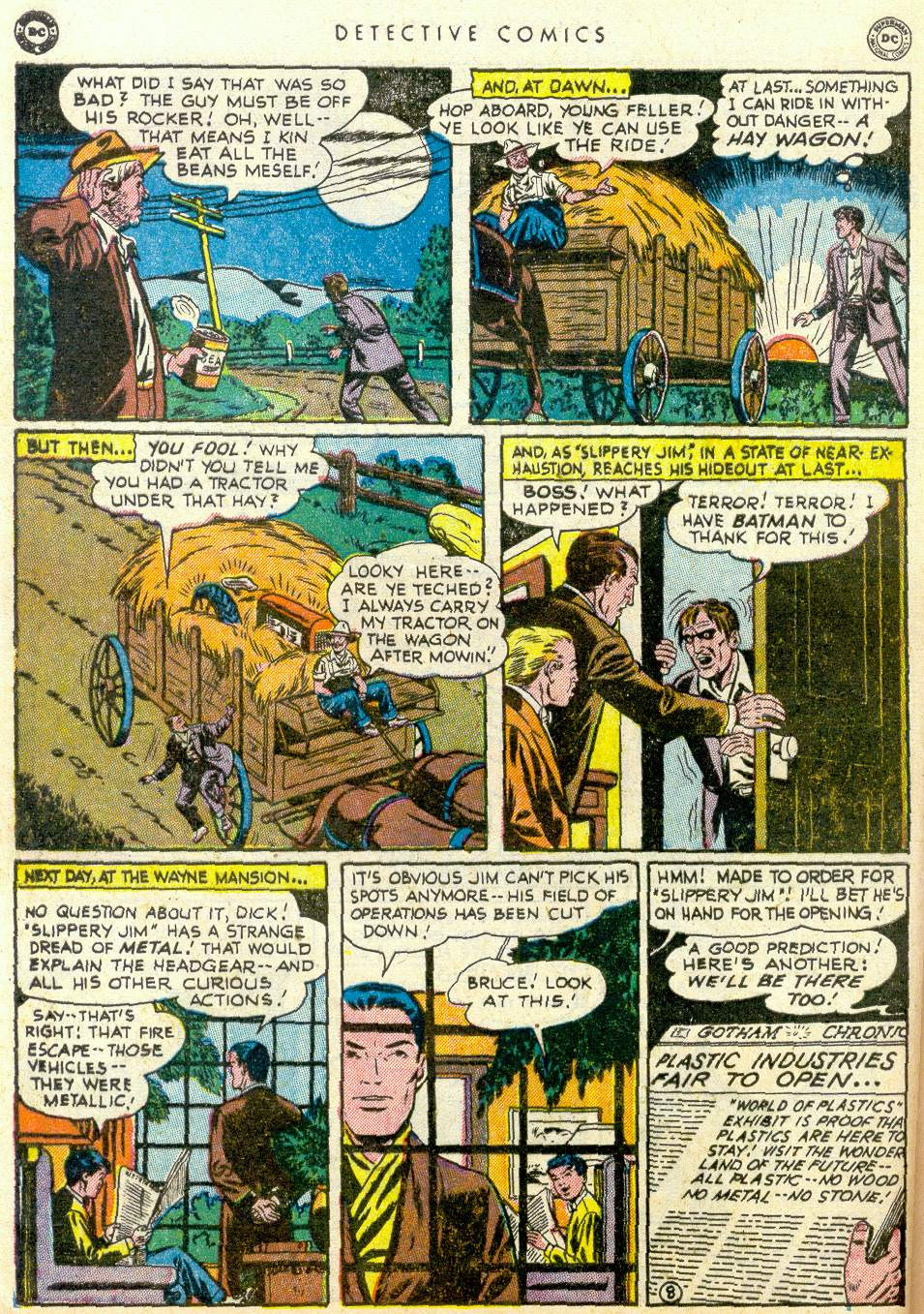 Read online Detective Comics (1937) comic -  Issue #163 - 9