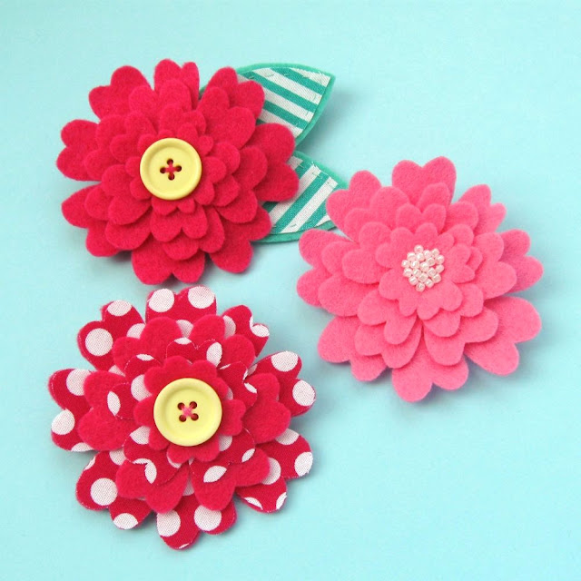Subscriber Exclusive: Felt Flower Brooches Tutorial