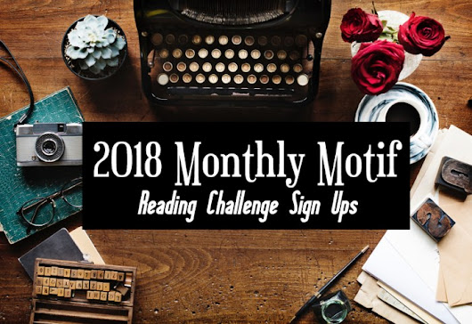 [Challenge] 2018 Monthly Motif Reading Challenge