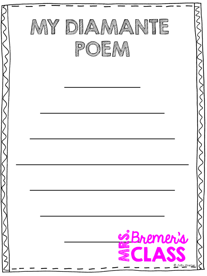 Poetry writing paper