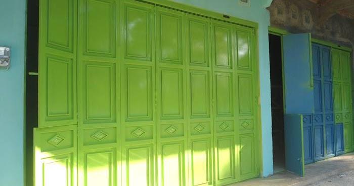 kanopi baja design pintu lipat besi | minimalist art
