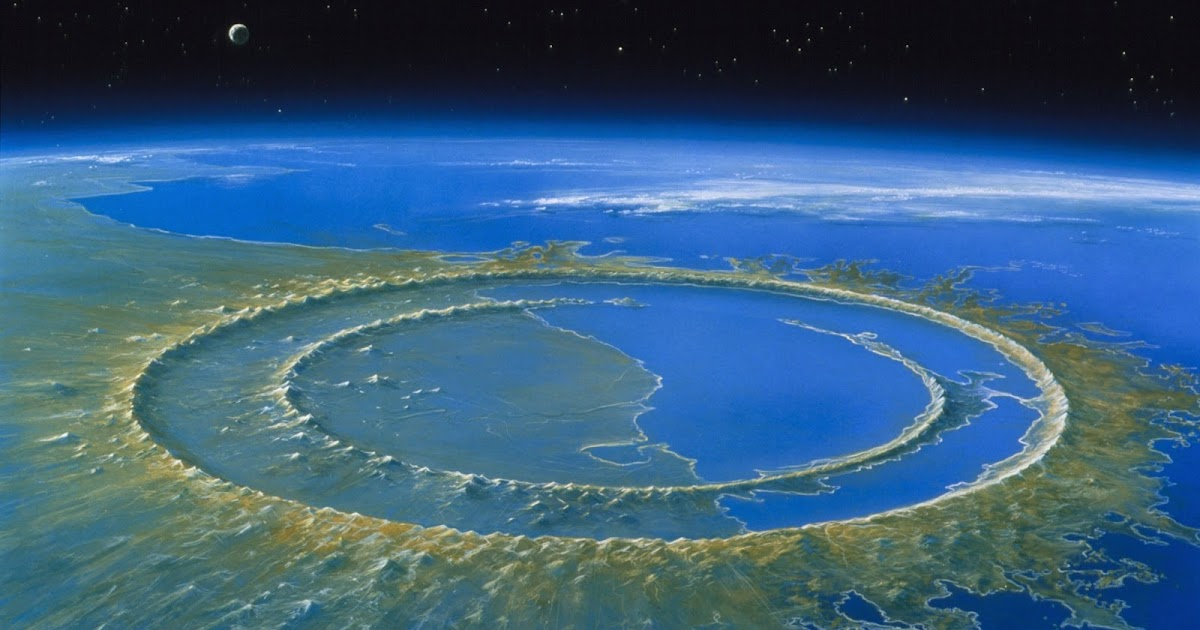 asteroid crater in mexico - photo #15