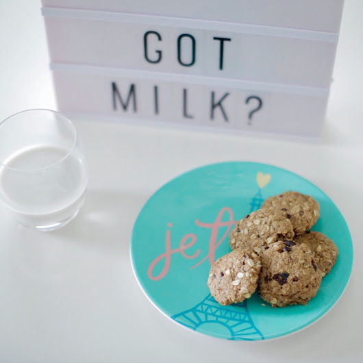 Healthy Lactation Cookies  - House of Kubes